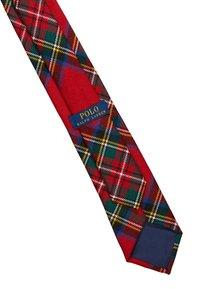 Polo Ralph Lauren - SCOTTISH TARTANS MADISON - Tie - red/royal multi - 3