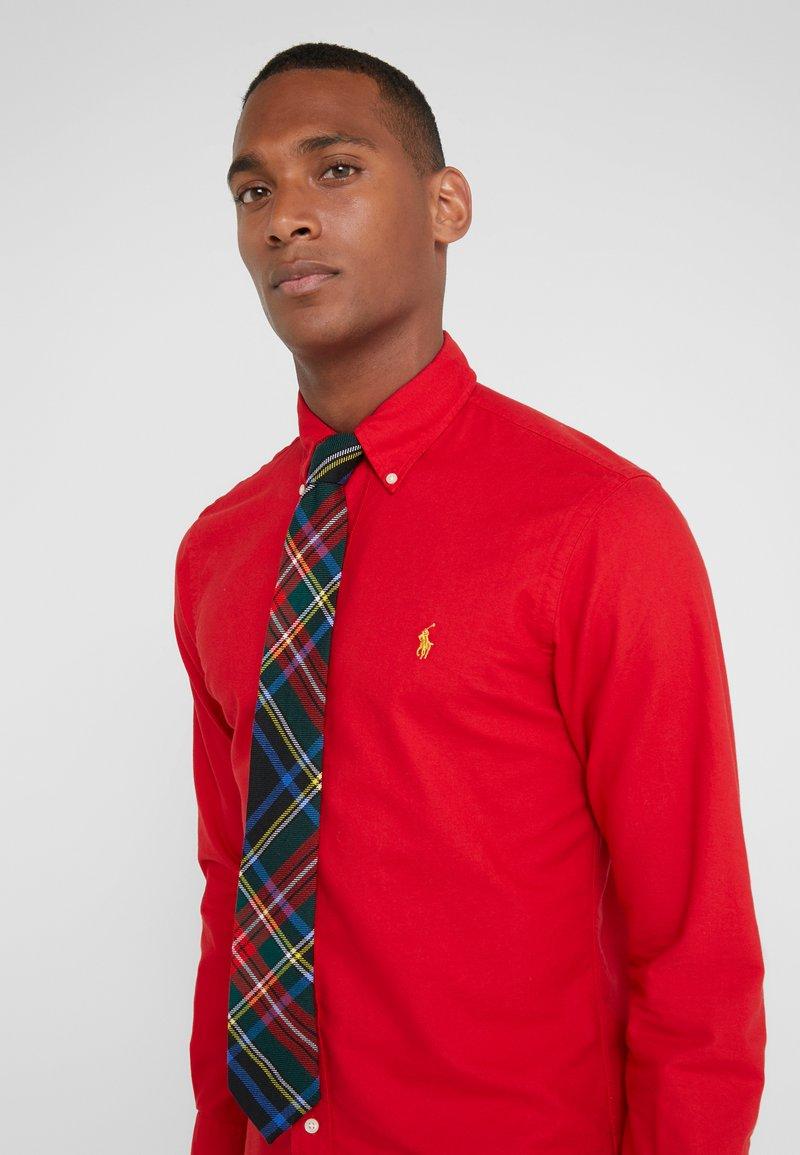 Polo Ralph Lauren - SCOTTISH TARTANS MADISON - Cravate - black/red multi