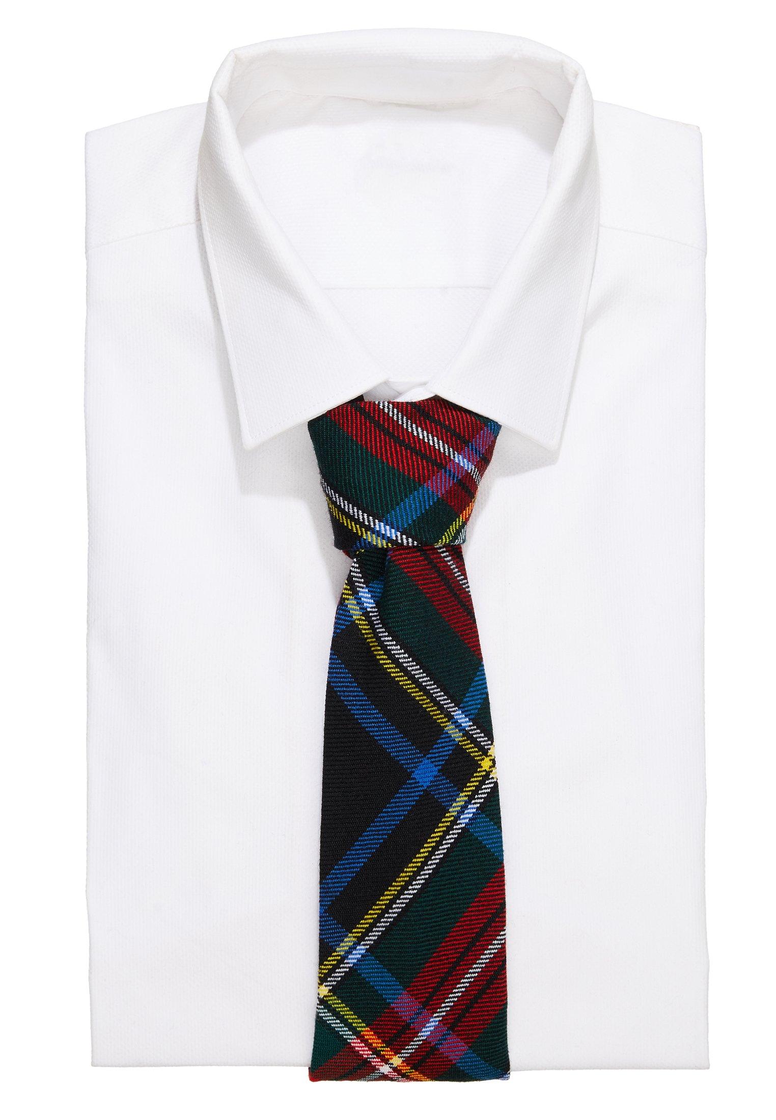 Polo Ralph Lauren SCOTTISH TARTANS MADISON - Krawat - black/red multi
