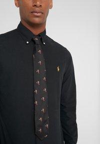 Polo Ralph Lauren - COCOA BEAR-MADISON - Corbata - black - 0