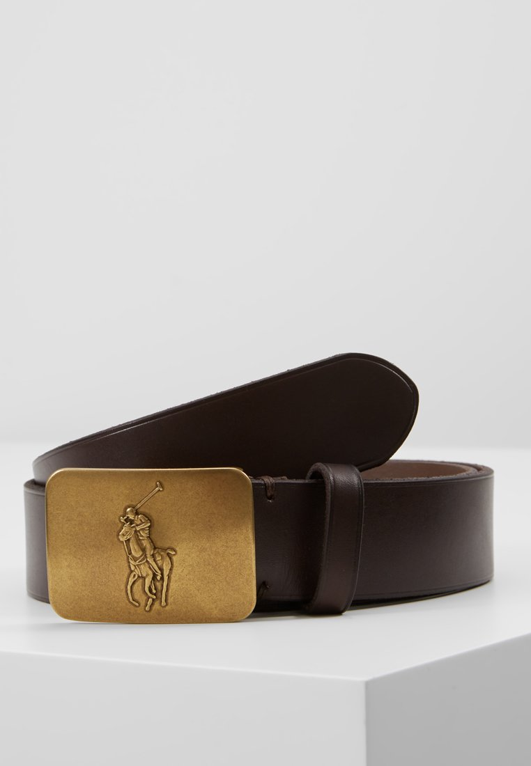 Polo Ralph Lauren - CASUAL BELT - Cinturón - dark brown