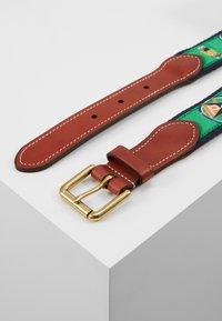 Polo Ralph Lauren - CRITTER BELT-CASUAL - Pásek - green - 3