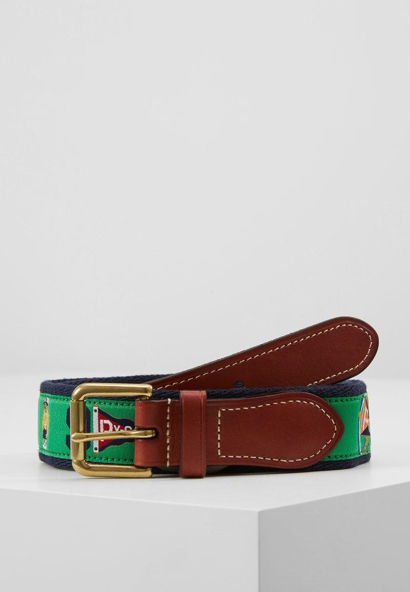 Polo Ralph Lauren - CRITTER BELT-CASUAL - Pásek - green