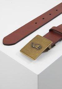 Polo Ralph Lauren - PONY BUCKLE-CASUAL - Pásek - brown - 3
