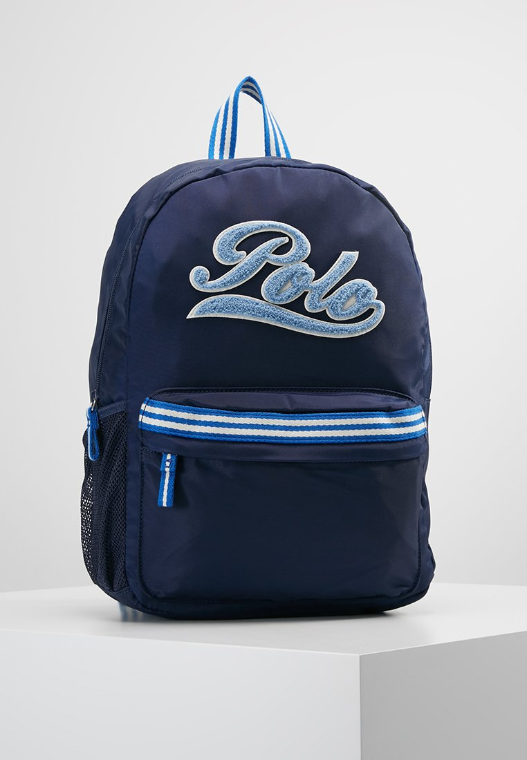 Polo Ralph Lauren - STRIPE BACKPACK - Sac à dos - blue
