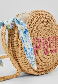 Polo Ralph Lauren - ROUND BAG CROSSBODY - Across body bag - raffia - 2