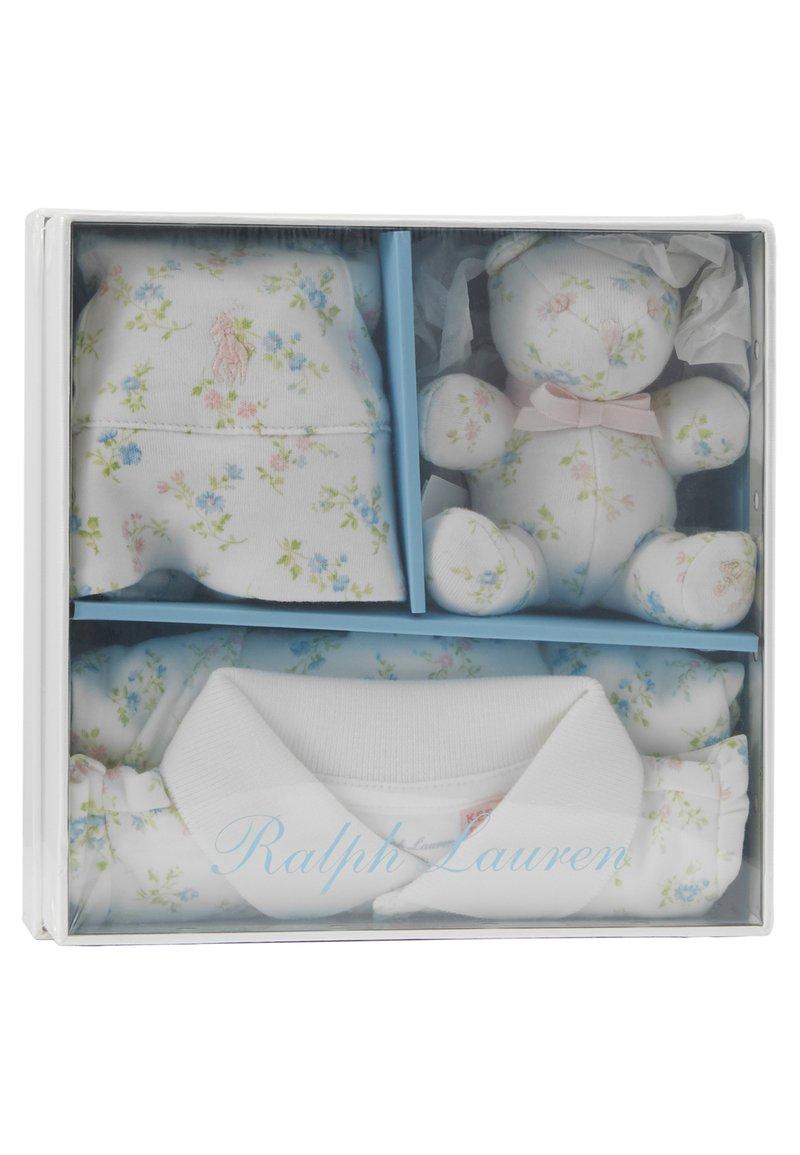 Polo Ralph Lauren - APPAREL ACCESSORIES GIFT BOX BABY SET - Geschenk zur Geburt - white/multi