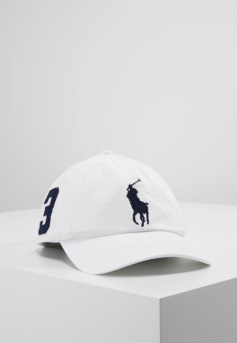 Polo Ralph Lauren - BIG HAT - Czapka z daszkiem - white