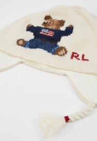 Polo Ralph Lauren - BEAR EARFLAP HAT - Huer - cream - 2