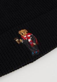 Polo Ralph Lauren - BEAR HAT - Bonnet - black - 2