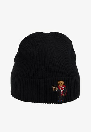 BEAR HAT - Mütze - black