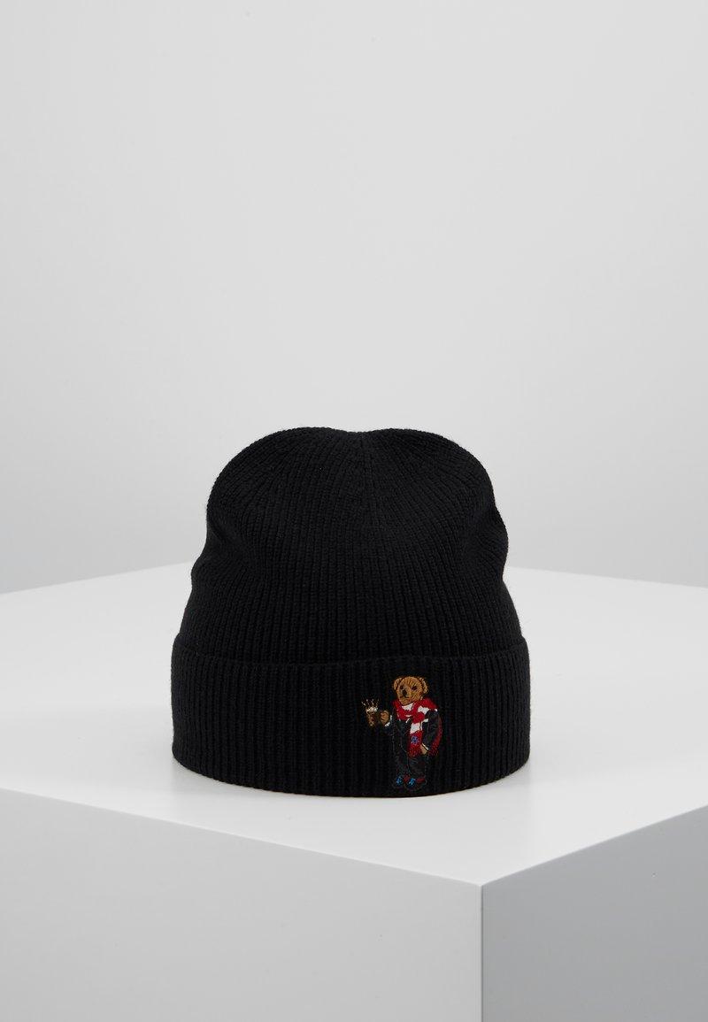 Polo Ralph Lauren - BEAR HAT - Bonnet - black