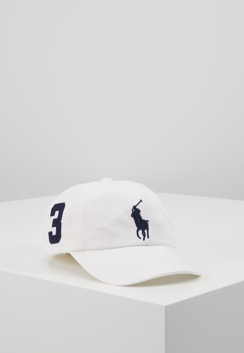 Polo Ralph Lauren - BIG APPAREL ACCESSORIES HAT - Kšiltovka - white
