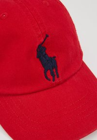 Polo Ralph Lauren - BIG APPAREL ACCESSORIES HAT - Kšiltovka - red - 2