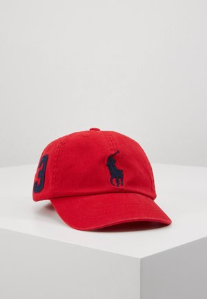 BIG APPAREL ACCESSORIES HAT - Czapka z daszkiem - red