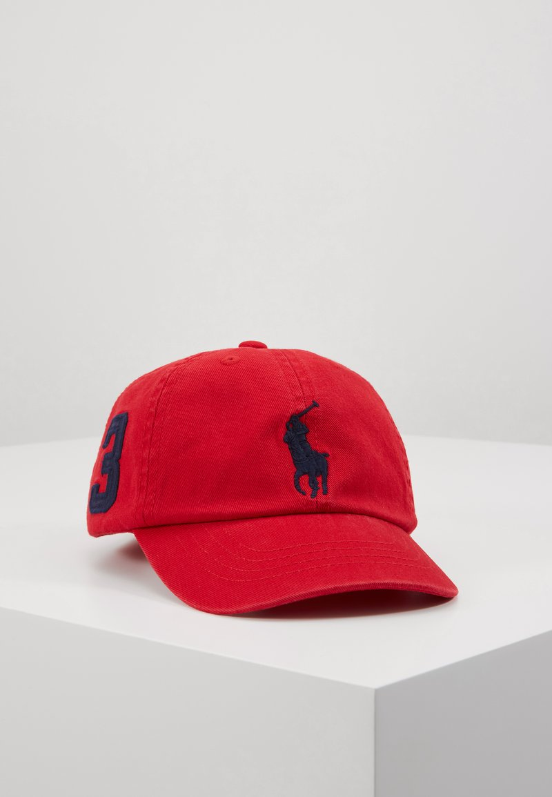 Polo Ralph Lauren - BIG APPAREL ACCESSORIES HAT - Kšiltovka - red