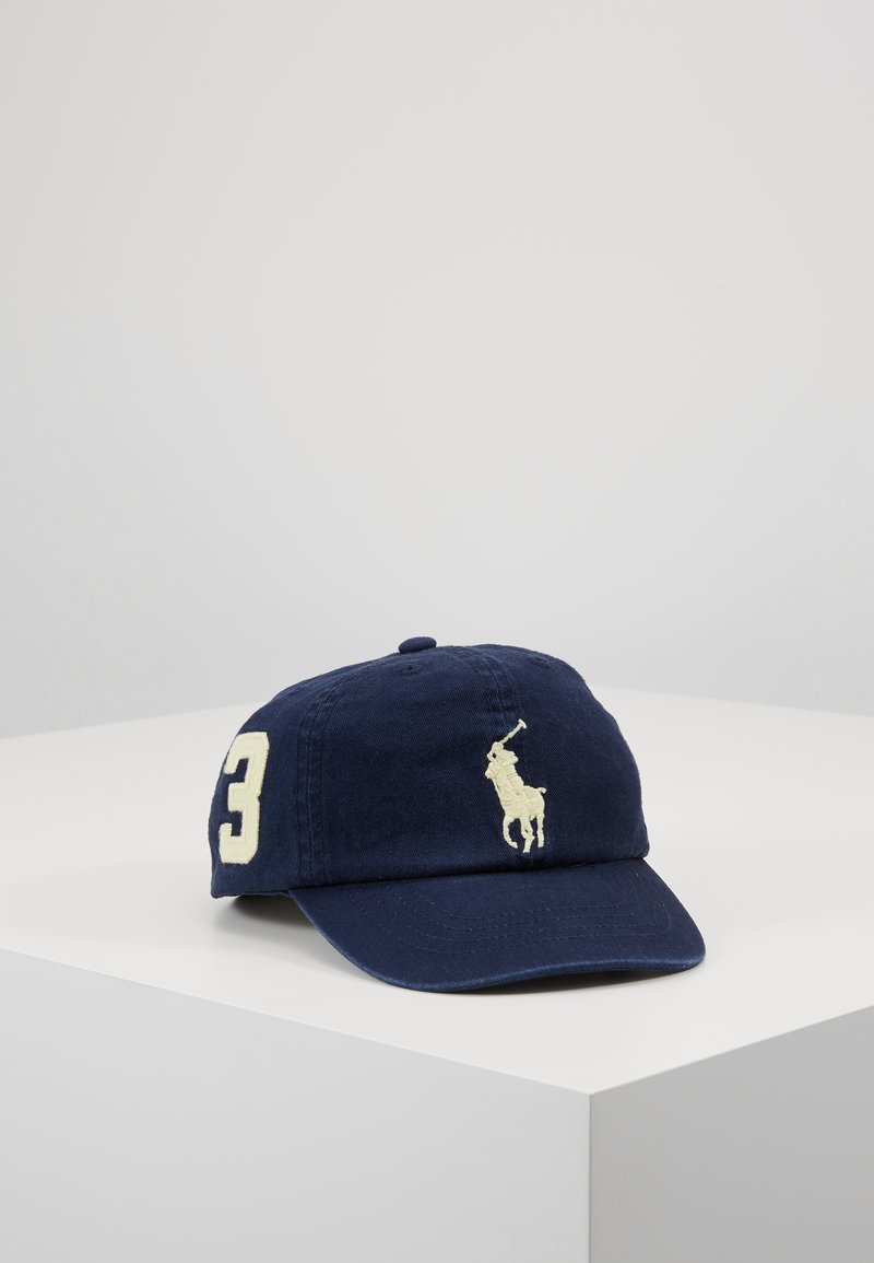 Polo Ralph Lauren - BIG APPAREL ACCESSORIES HAT - Cappellino - newport navy