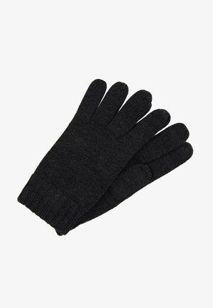 GLOVES - Gloves - dark granite heather