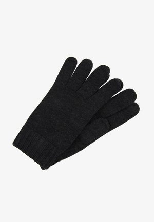 GLOVES - Guantes - dark granite heather