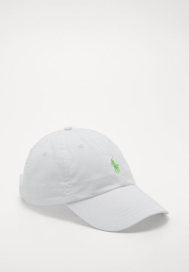 Cap - white/neon