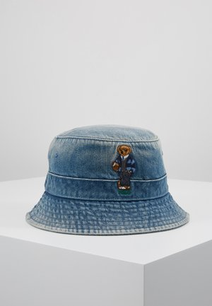 BUCKET HAT BEAR - Klobouk - light blue