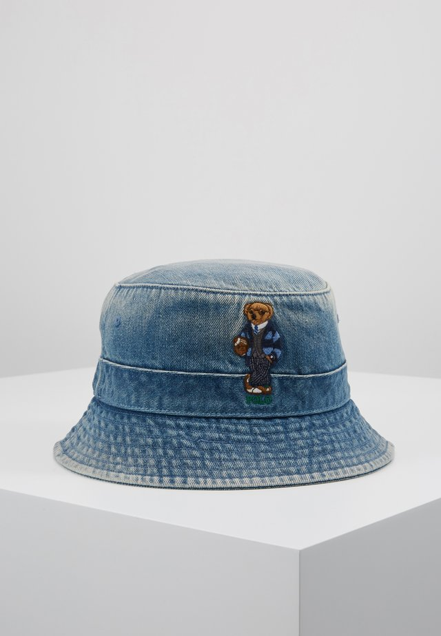 BUCKET HAT BEAR - Klobouk - light blue