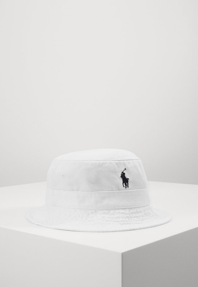 BUCKET HAT - Hatt - white