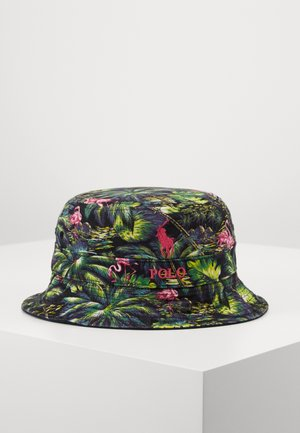 NEW BOND BUCKET - Klobouk - flamingo tropical