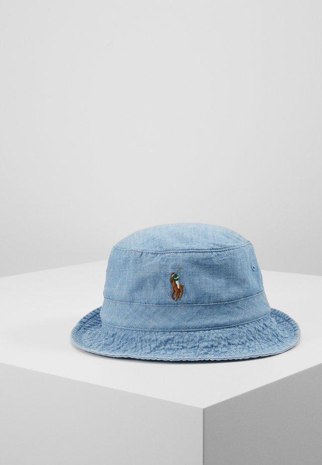 BUCKET HAT - Hut - blue chambray