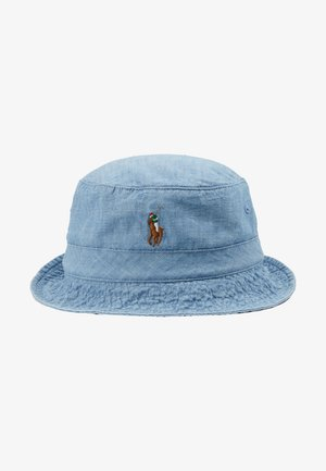 BUCKET HAT - Cappello - blue chambray