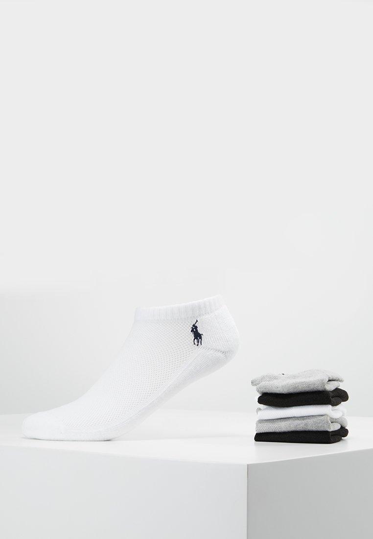 Polo Ralph Lauren - POLY BLEND SOLE 6 PACK - Sokker - white/black/grey