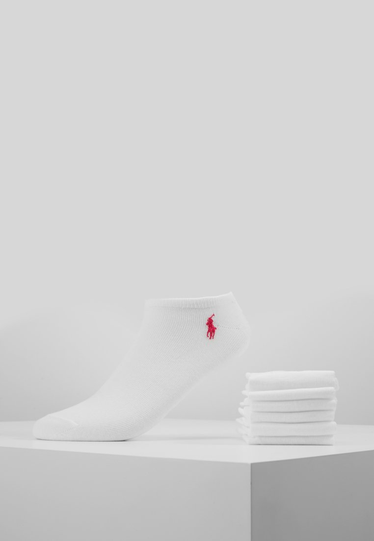 Polo Ralph Lauren - POLY BLEND ULTRA LOW CUT 6 PACK - Sokker - white assorte