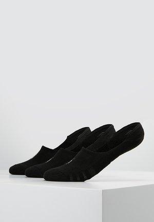 POLY BLEND 3 PACK - Socquettes - black/white