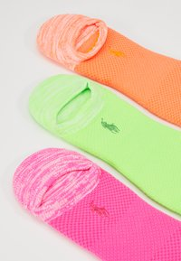 Polo Ralph Lauren - 3 PACK - Sokker - coral/neon green/pink - 2