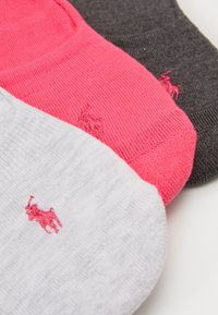 Polo Ralph Lauren - SNEAKER LINER 3 PACK - Socquettes - pink - 1