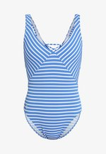 MITERED LACE-BACK MAILLOT MODERN LEG - Maillot de bain - pool
