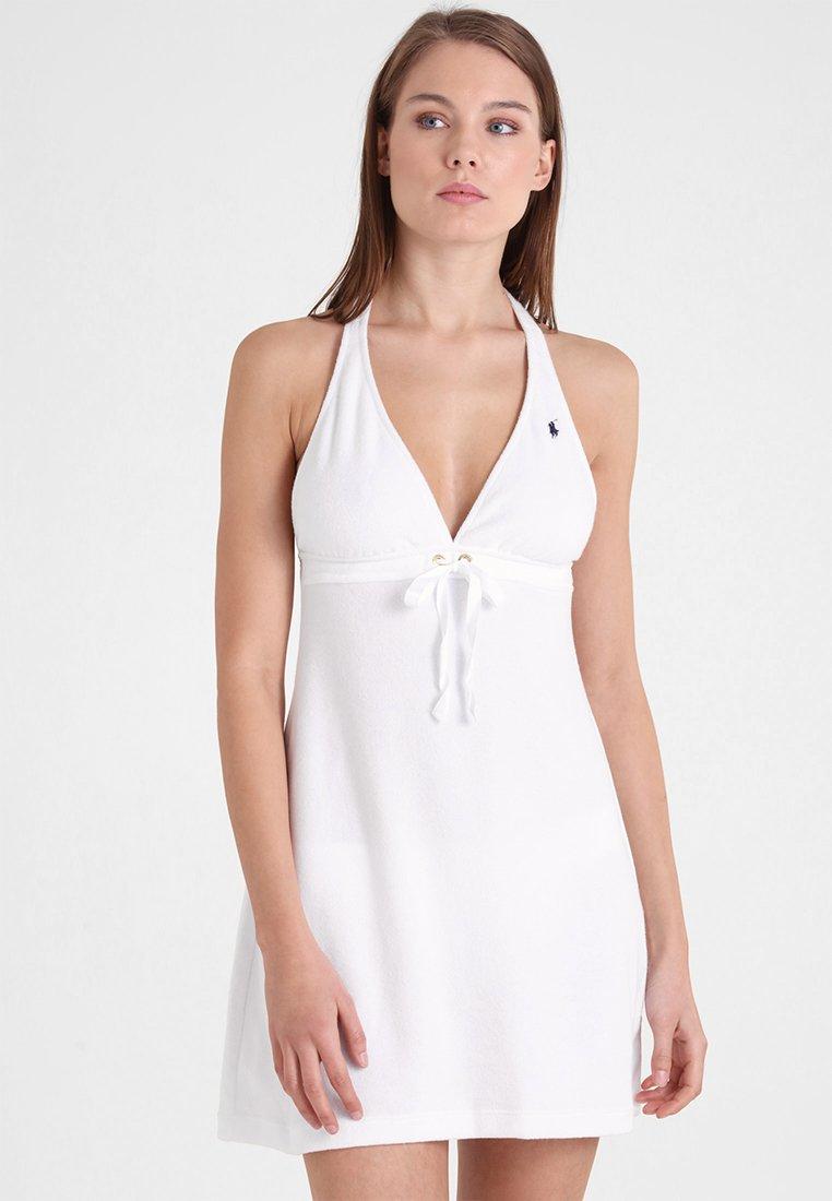 Polo Ralph Lauren - GROMMET HALTER DRESS - Strandaccessoire - white