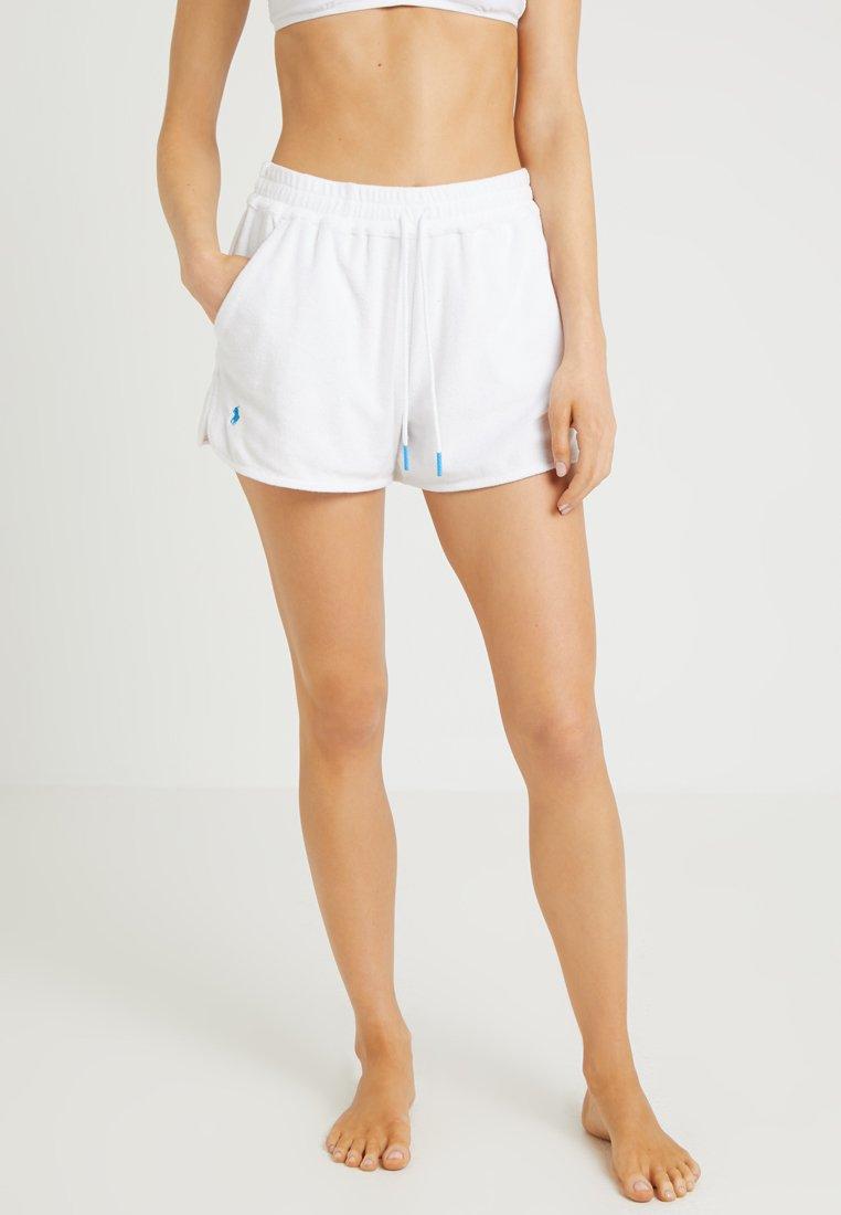 Polo Ralph Lauren - TERRY SHORT - Nachtwäsche Hose - white