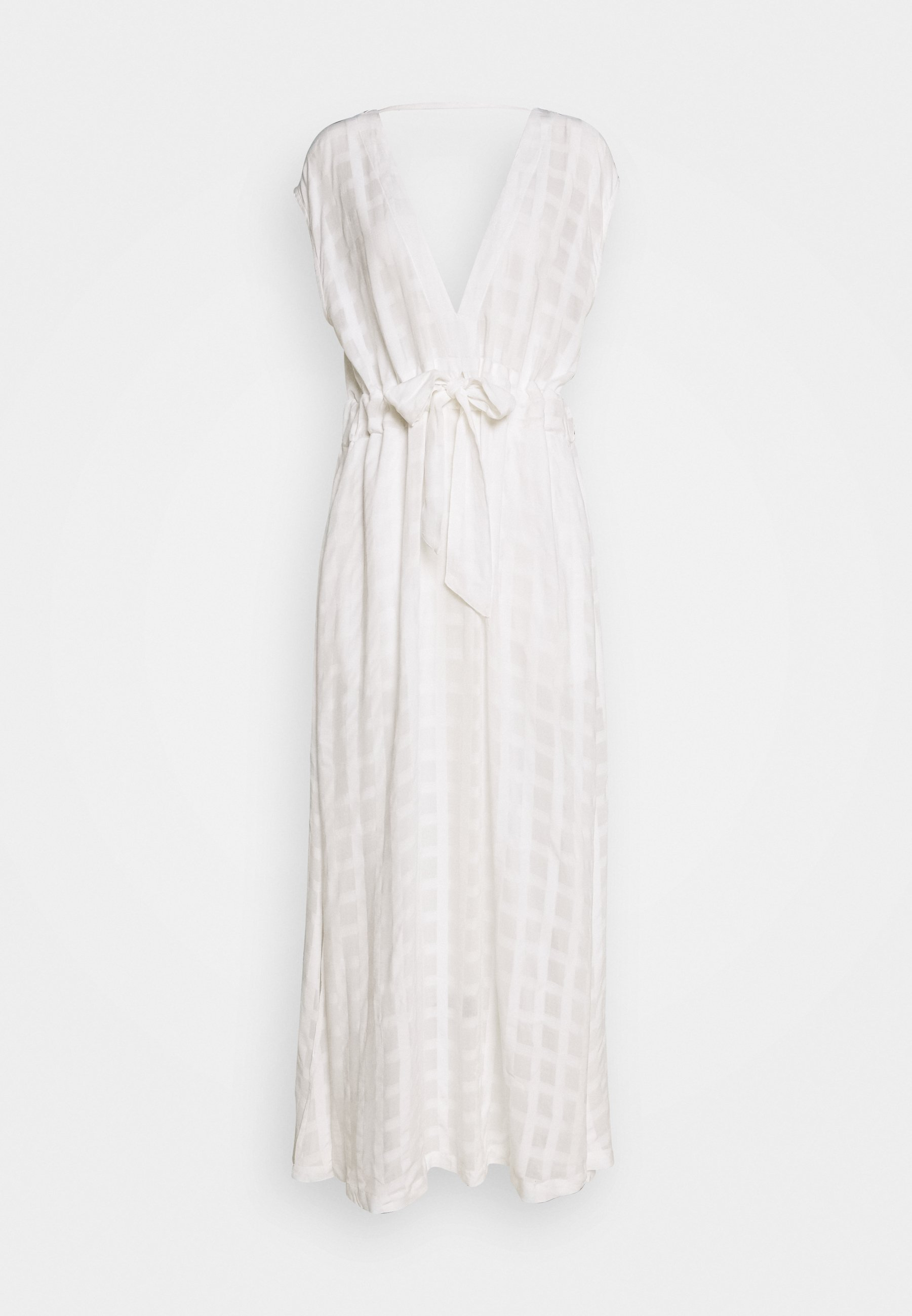 Polo Ralph Lauren Plunge Midi Dress - Accessorio Da Spiaggia White 8YOqb