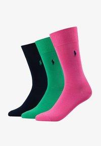 Polo Ralph Lauren - MERC SOLI CREW 3 PACK - Sukat - pink/navy - 1