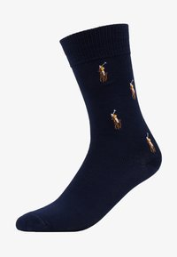 Polo Ralph Lauren - MERC CREW SINGLE - Chaussettes - cruise navy - 1