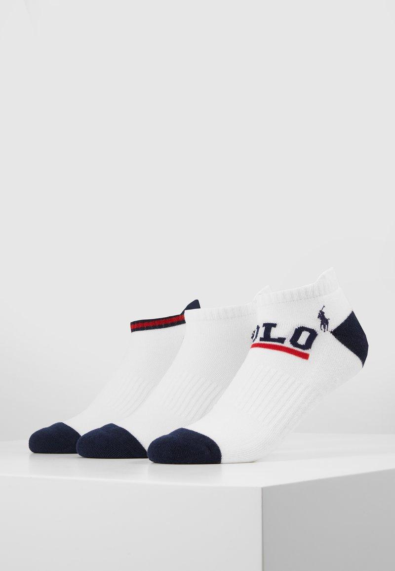 Polo Ralph Lauren - FLAG 3 PACK - Sokken - white
