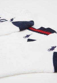 Polo Ralph Lauren - FLAG 3 PACK - Sokken - white - 2