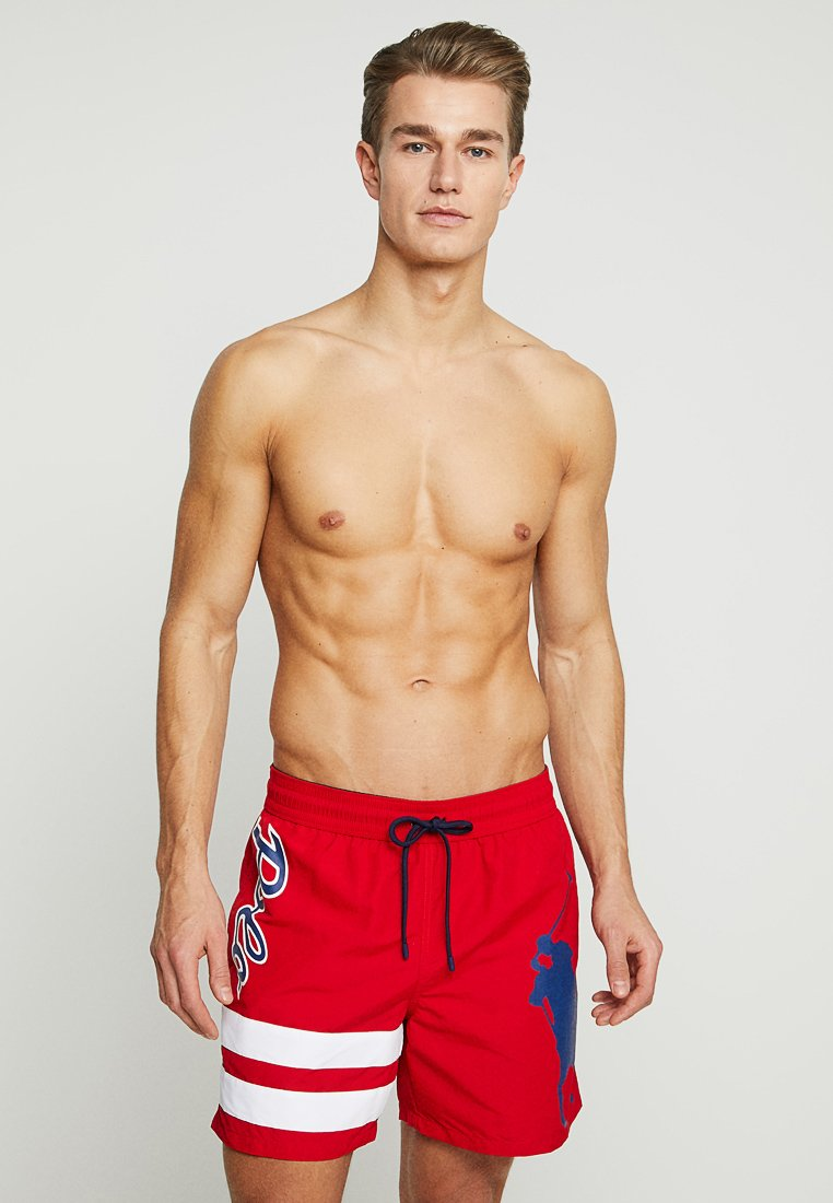 Polo Ralph Lauren - TRAVELER - Short de bain - red