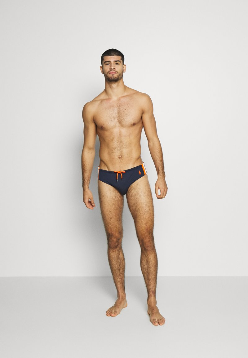 Polo Ralph Lauren - BRIEF SWIM - Plavky slipy - newport navy w/ o