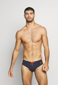 Polo Ralph Lauren - BRIEF SWIM - Plavky slipy - newport navy w/ o - 1