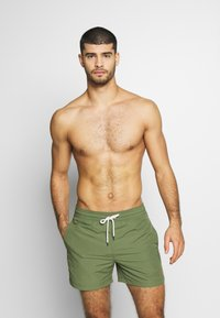 Polo Ralph Lauren - SLIM TRAVELER - Shorts da mare - supply olive - 1