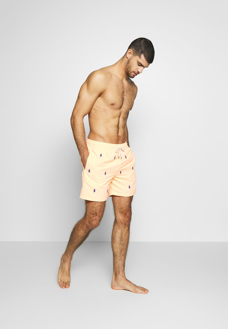Polo Ralph Lauren - TRAVELER - Plavky - orange splash