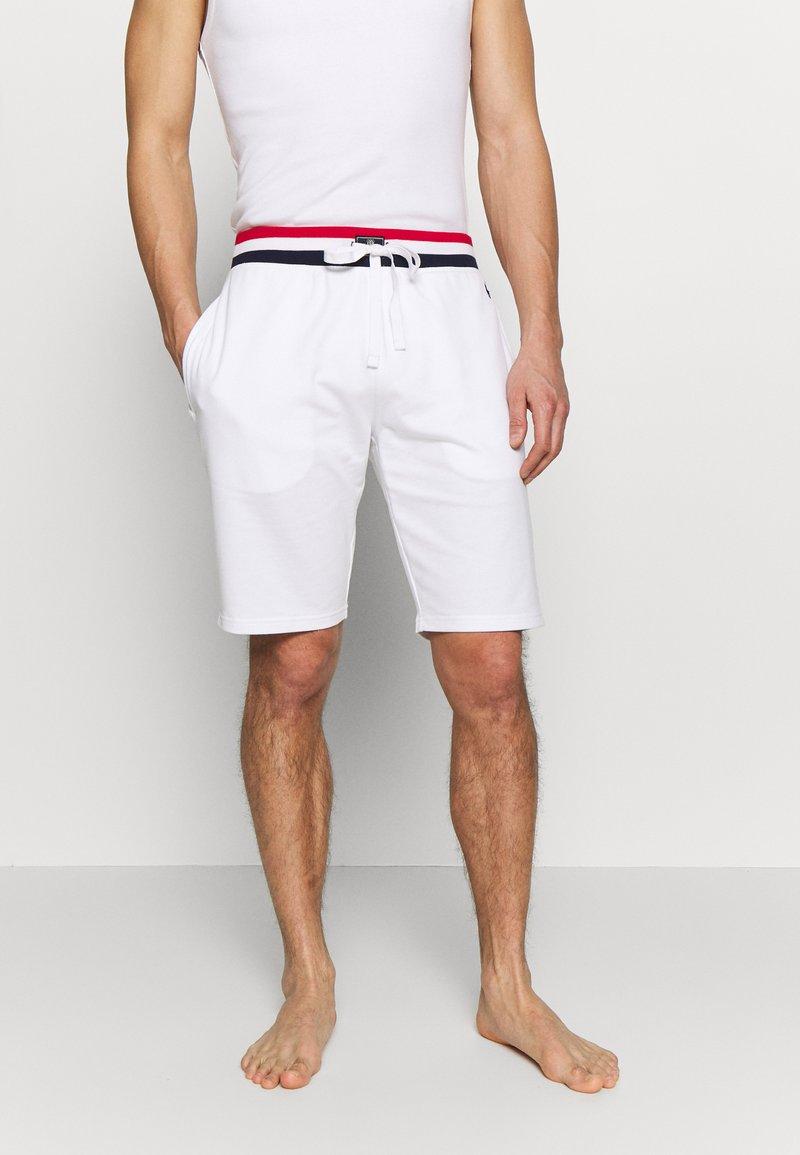 Polo Ralph Lauren - LOOP BACK  - Pantalón de pijama - white