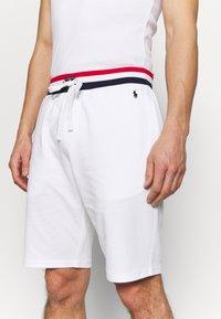 Polo Ralph Lauren - LOOP BACK  - Pantalón de pijama - white - 4